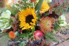 Květinový box  Slunce