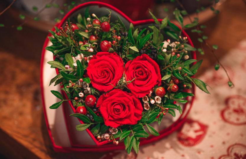 Potěšte na sv. Valentýna své nejbližší krásnou květinou